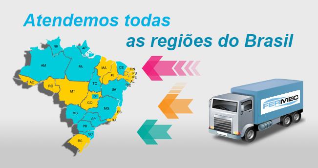 Fermec – Atendemos todas as regiões do Brasil