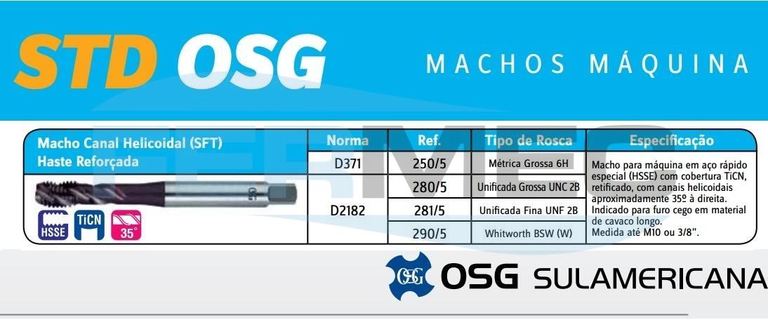 Macho maquina SFT OSG