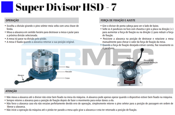 Super Divisor HSD-7
