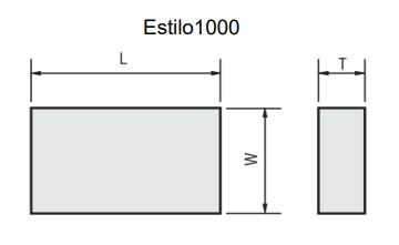 Pastilha de Solda ASA - Desenho Técnico