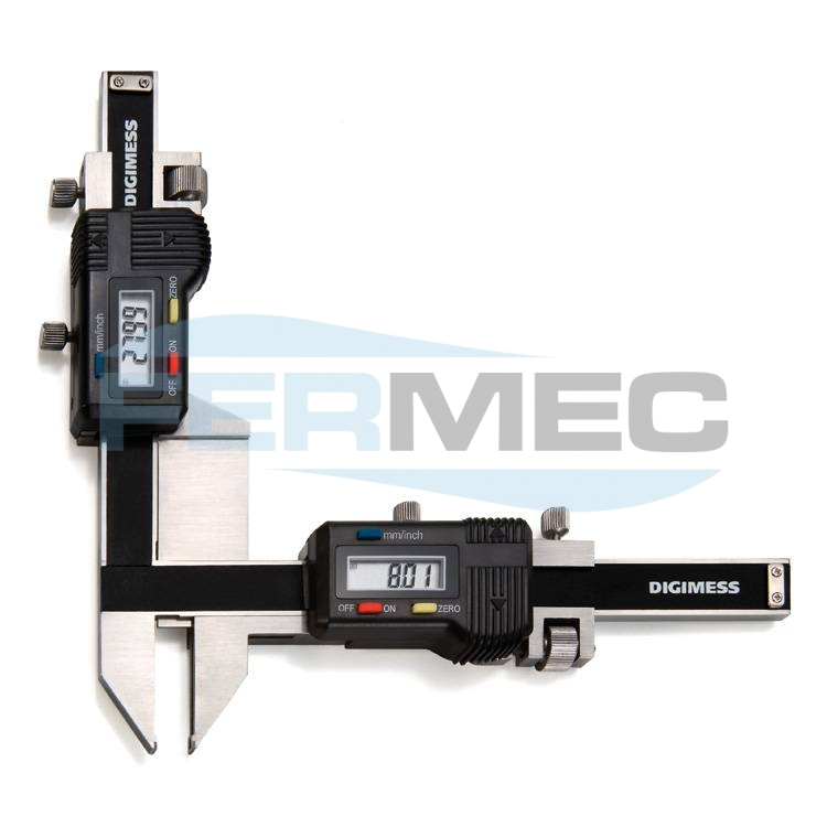 Paquímetros Digitais para Medições de Dentes de Engrenagens