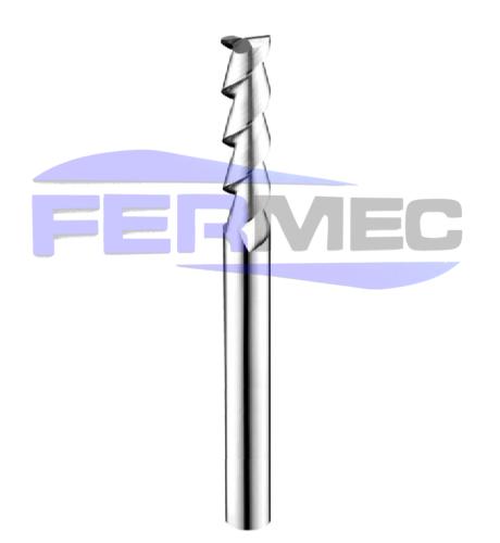 Fresa de Alumínio 2 Cortes Standard