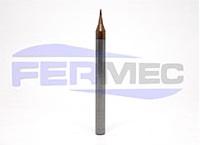 Fresa Topo Esférico de Metal Duro 2 Cortes Micro Diâmetro