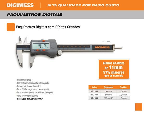 Paquímetros digital