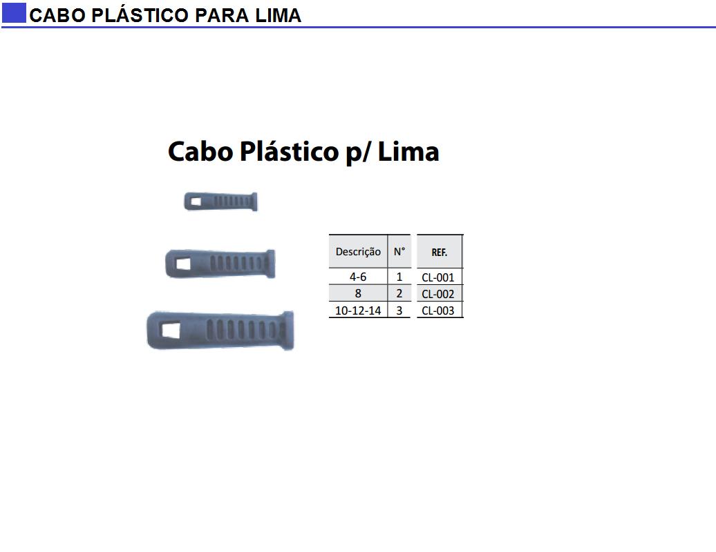 Cabo Plástico para Lima