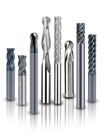 Fresa de Metal Duro - Topo Reto  3 Cortes - Standard