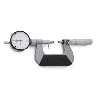 Micrômetros Externos para Medir Ressaltos e Dentes de Engrenagens