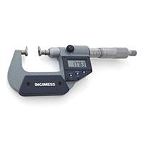 Micrômetros Externos para Medir Ressaltos e Dentes de Engrenagens - Nível de Proteção IP54