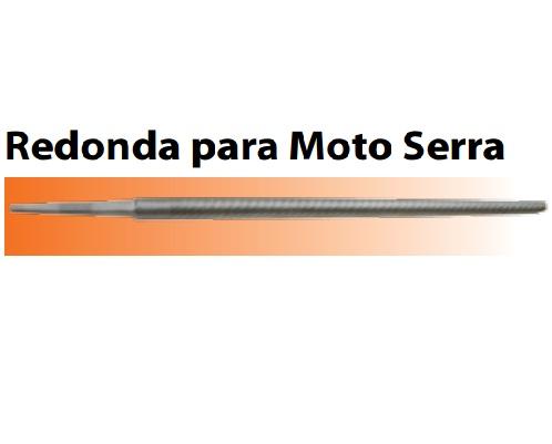 Lima Agrícola Redonda para Moto Serra