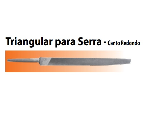 Lima Agrícola Triangular para Serra - canto redondo