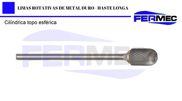 Lima Rotativa Metal Duro Esférica
