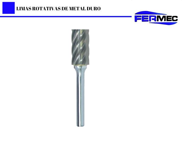 Lima Rotativa Cônica com Ponta Esférica Para Aluminio