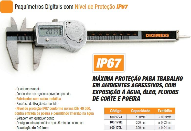 Paquímetros Digitais 100.179J
