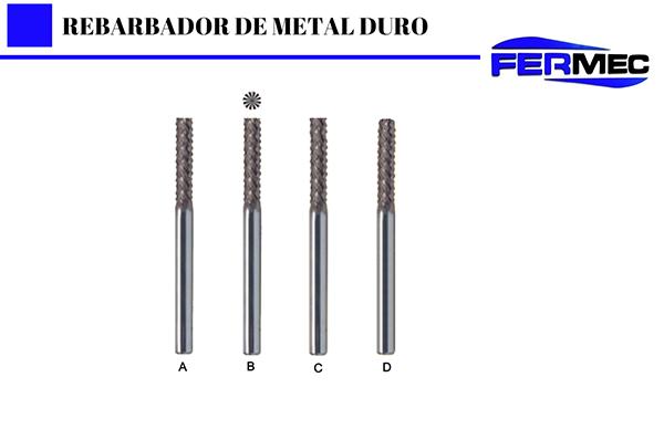 Rebarbador de Metal Duro